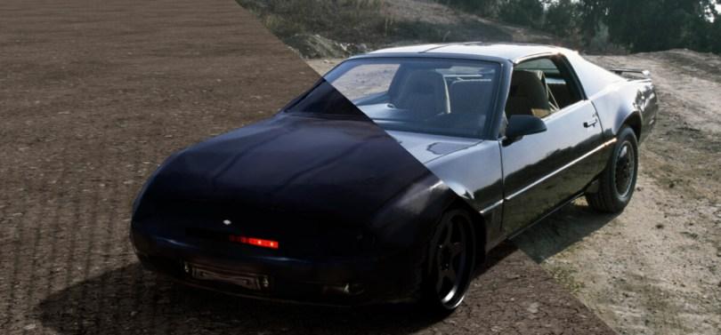 GANVerse 3D a permis la modélisation de Kitt de la série K2000