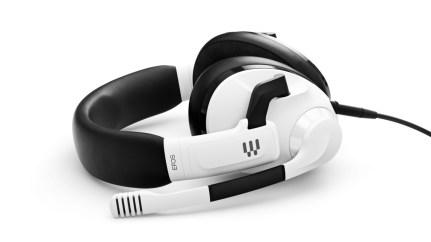 La version Ghost White du casque EPOS H3