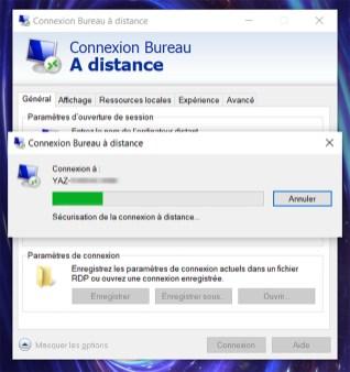 Prise de contrôle à distance d'un PC sous Windows 10 06