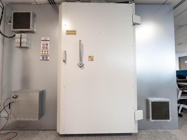La cage de Faraday implantée dans les locaux // Source : DxOMark