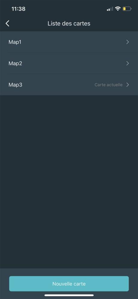 Le Viomi S9 peut gérer jusqu'à 5 cartes // Source : Frandroid / Yazid Amer