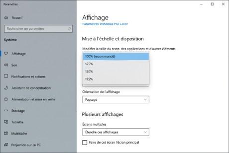 Comment gérer le multiscreen sous Windows 10 08