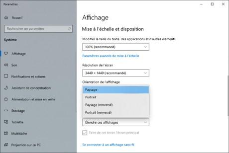 Comment gérer le multiscreen sous Windows 10 10