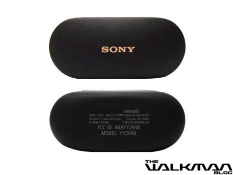 Boitier de recharge des Sony WF-1000xM4 // Source : TheWalkmanBlog