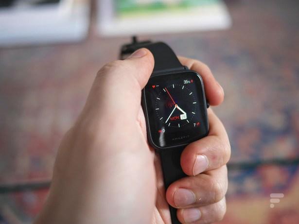 La montre Amazfit Bip U Pro // Source : Frandroid