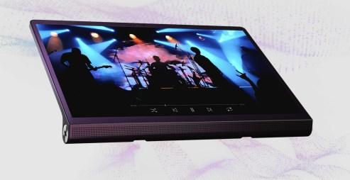 La Yoga Tab peut tenir dans toutes les positions // Source : Lenovo