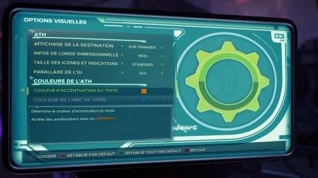 Les paramètres d'accessibilité dans Ratchet & Clank : Rift Apart // Source : Insomniac Games