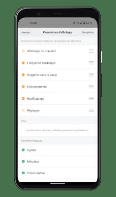 Xiaomi Mi Smart Band 6 - Mi Fit App - Paramètres (3)