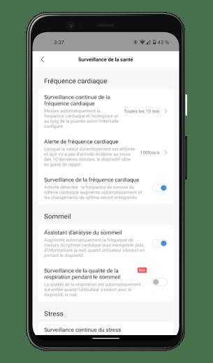 Xiaomi Mi Smart Band 6 - Mi Fit App - SpO2 (3)