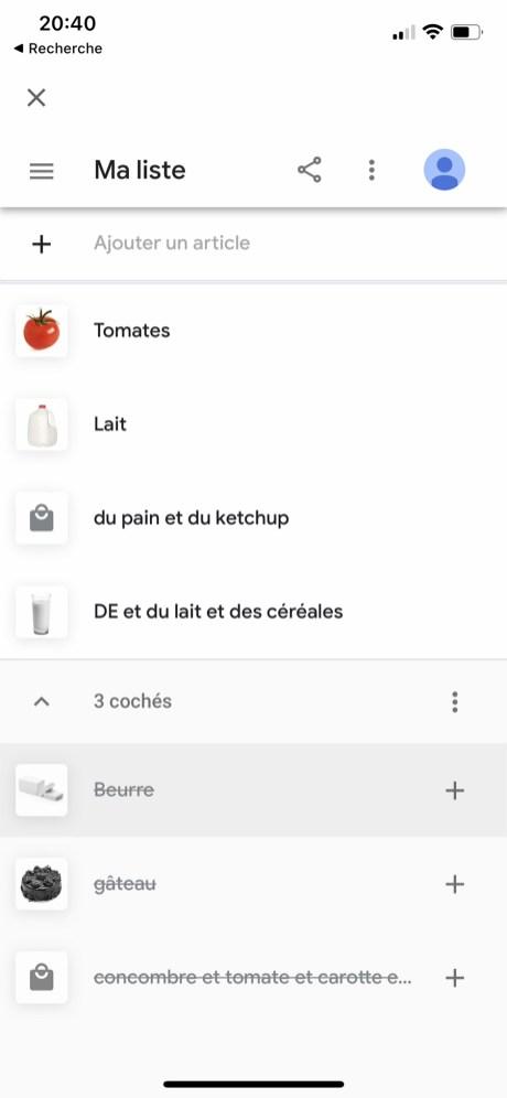 Comment gérer et accéder sa liste de course sur Google Home 10