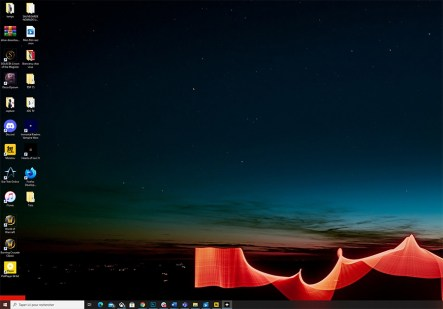 Comment masquer les icones du bureau Windows 10 05
