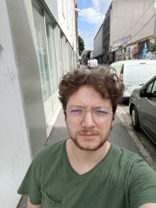 Mode selfie du Find X3 Lite. // Source : Frandroid