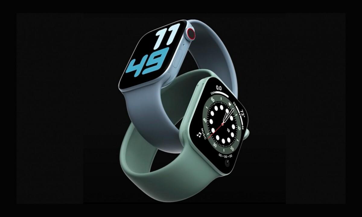 Rendu supposé de l'Apple Watch Series 7
