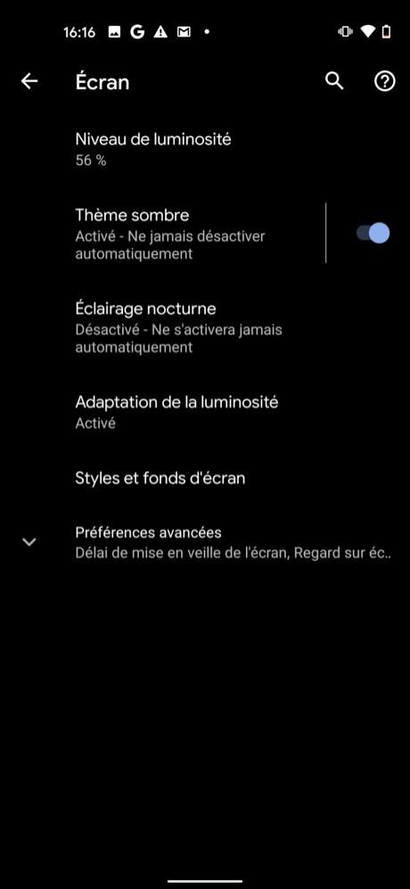 Comment mettre Snapchat en mode sombre sur Android 02