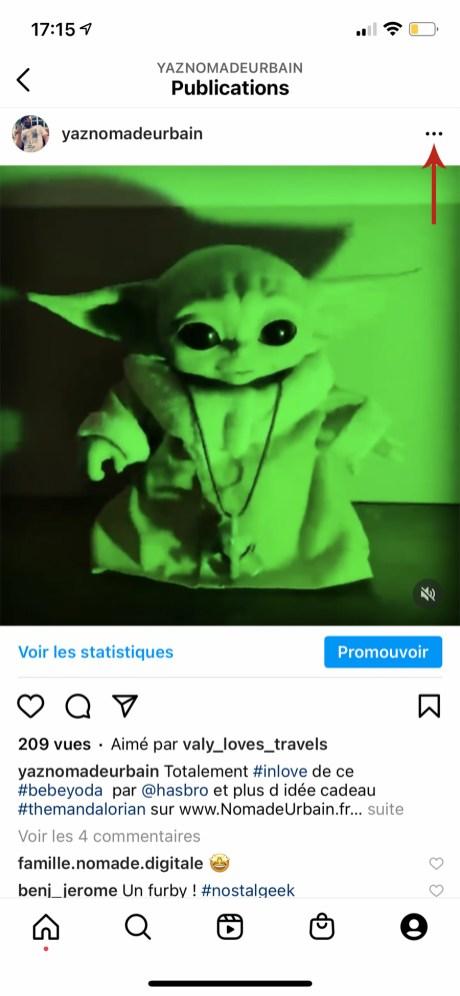 Comment télécharger une vidéo sur instagram à partir de votre smartphone 01