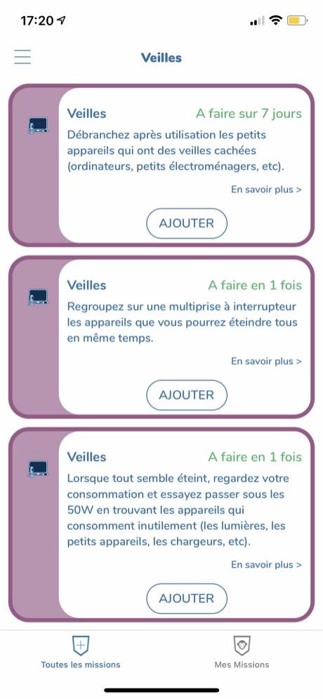 Test Ecojoko app veilles