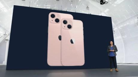 iPhone 13 lors de l'événement Apple