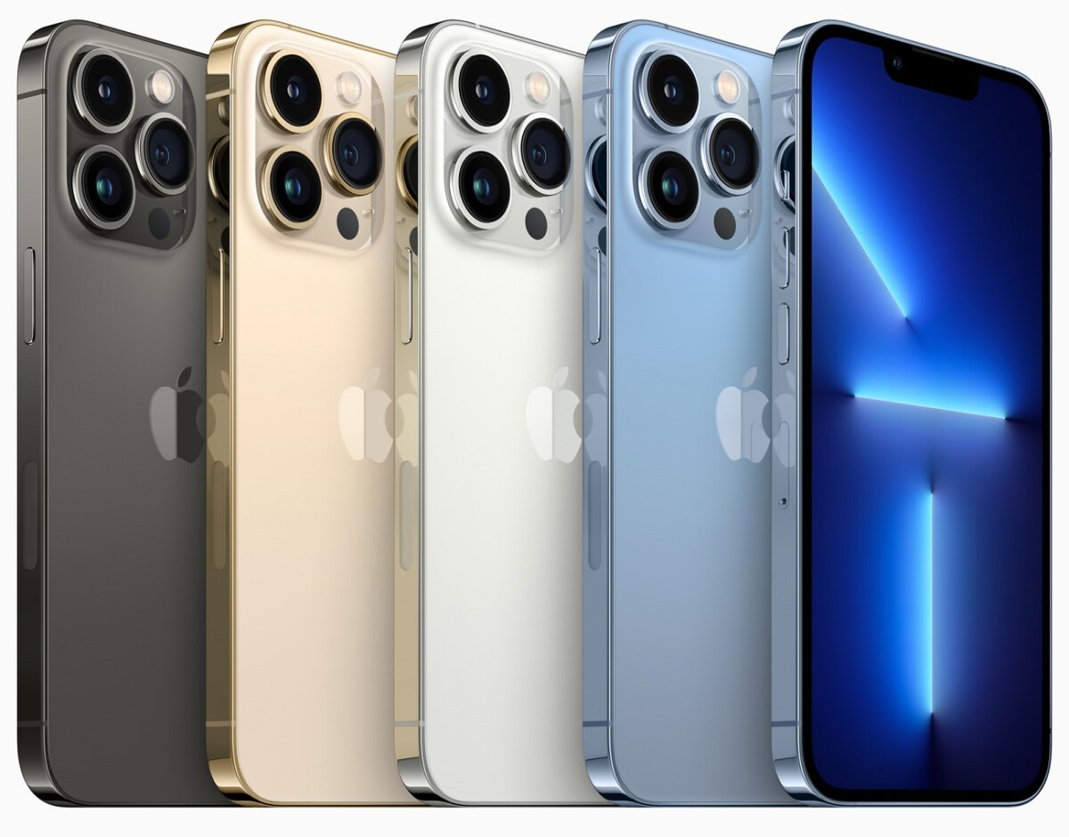 The colors of the iPhone 13 Pro and iPhone 13 Pro Max