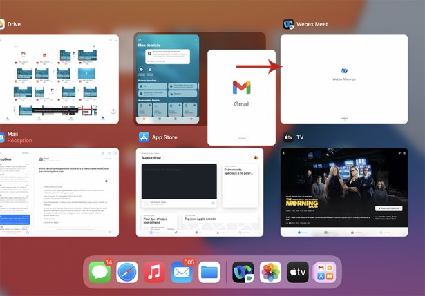 Comment gérer le multifenêtre sur iPad 26