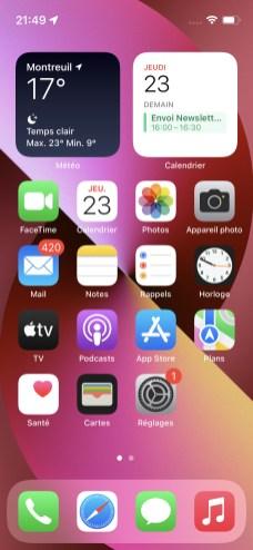 Inteface iOS 1