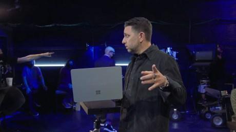 #MicrosoftEvent Live 41-0 screenshot