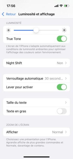 Personnalisation iOS (2)