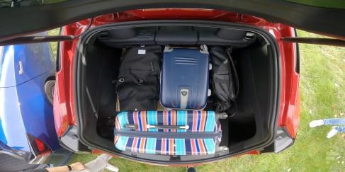 Le coffre arrière de la Tesla Model Y // Source : Frandroid