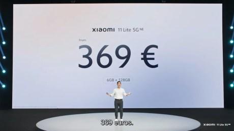 Xiaomi Lancement de produits Septembre 2021 1-19-28 screenshot