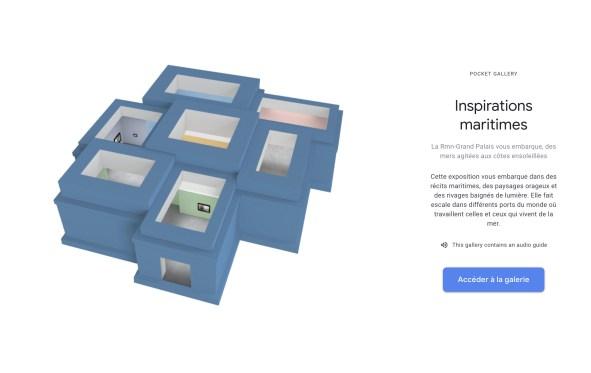 Google lance sa toute première exposition interactive et immersive sur le web // Source : Google Arts & Culture