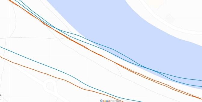 Fitbit Charge 5 - Ratés du GPS (en bleu) (2)