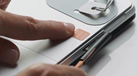 Des repères colorés pour trouver ses accessoires // Source : Microsoft
