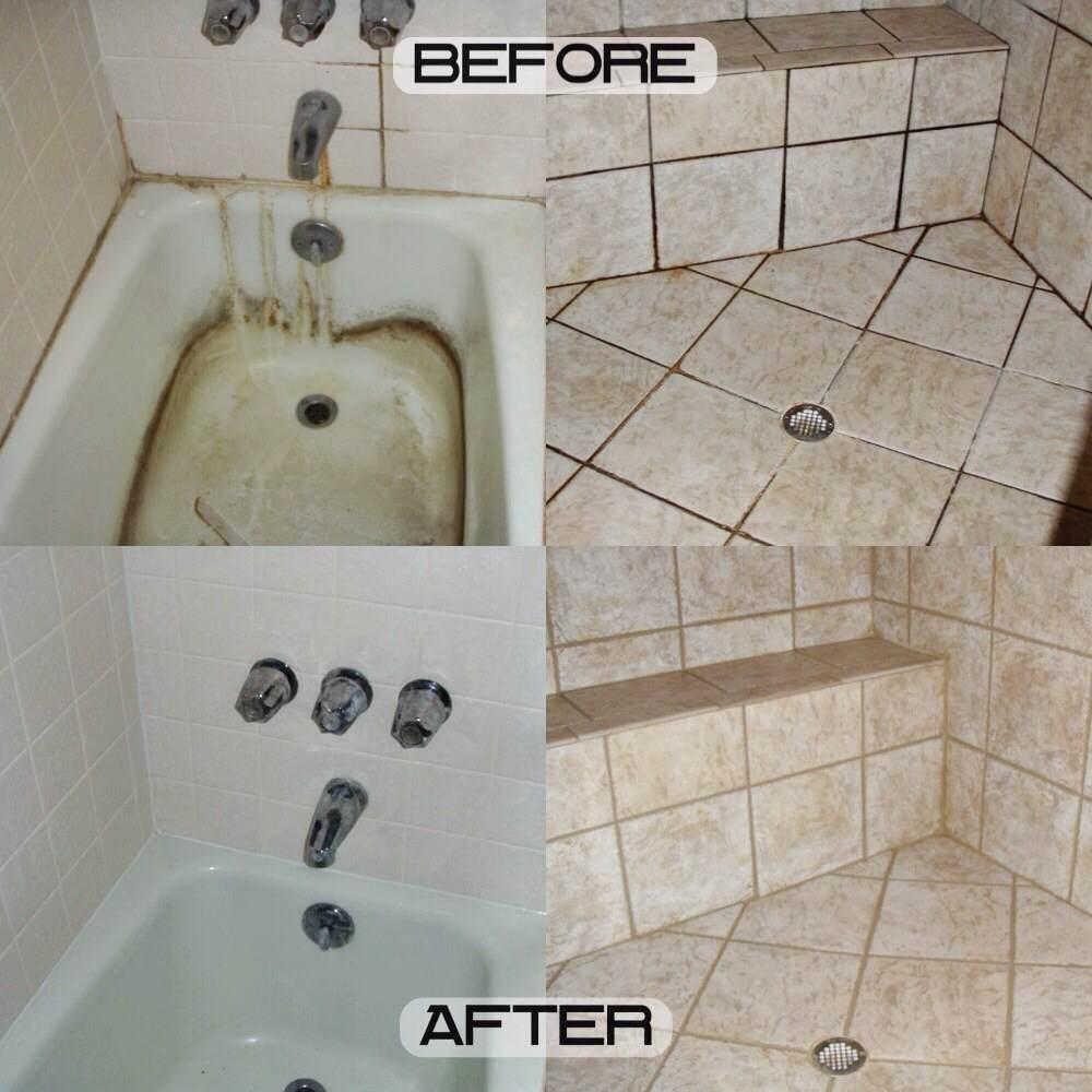 How To Clean Bathroom Tile Grout Professional Tile Grout Cleaning Color Sealing Repair And Shower