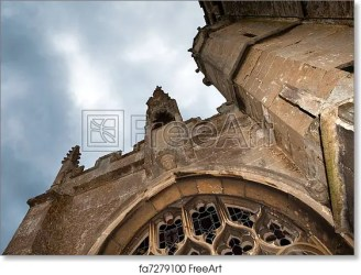 medieval church darkness lacock 15th ruin clouds potter harry village above england century shot location english dark film freeart
