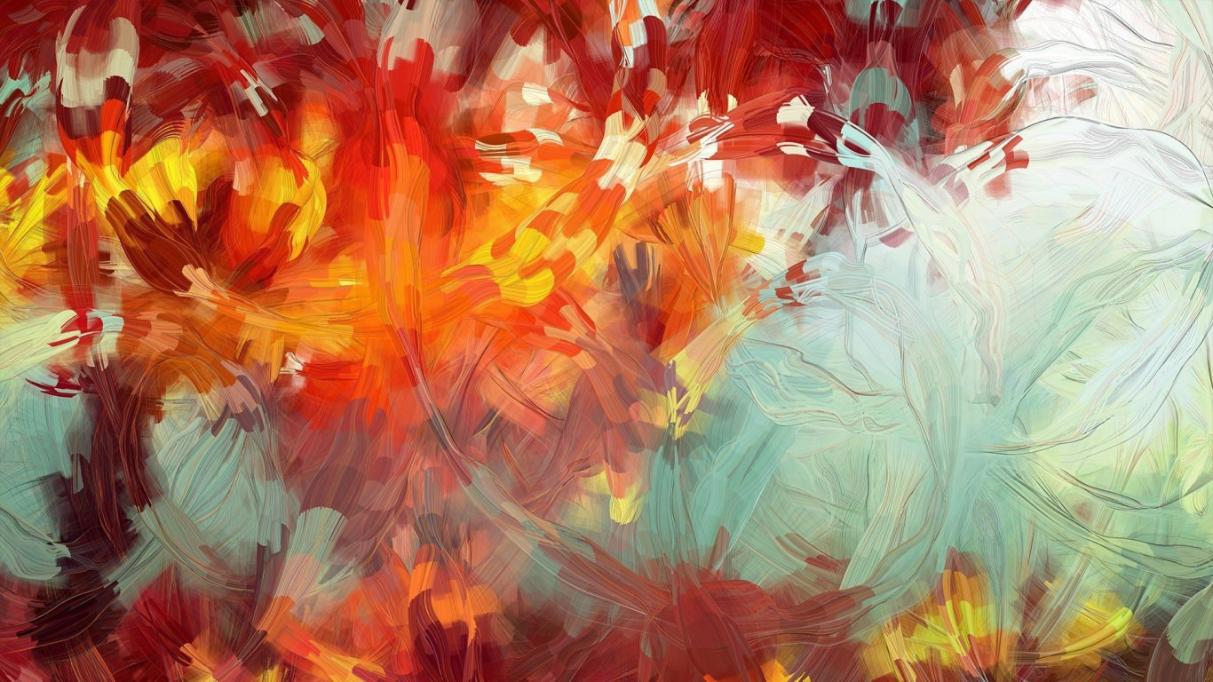 15 Free Printable Abstract Art Paintings