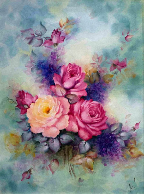 Awesome Flowers Painting Free & Premium Creatives