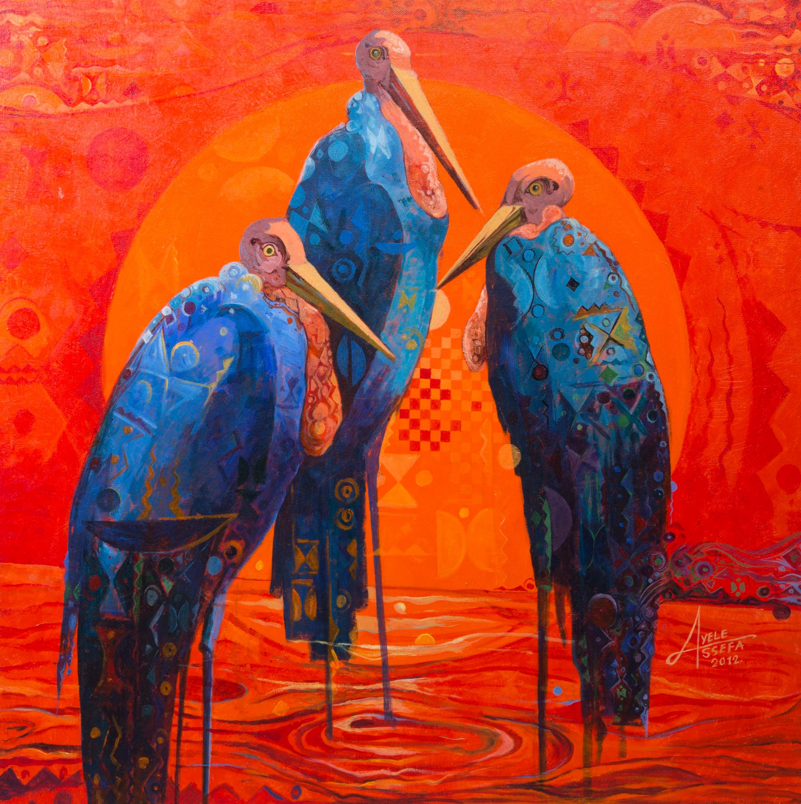 Free 15 Modern Art Paintings In Psd