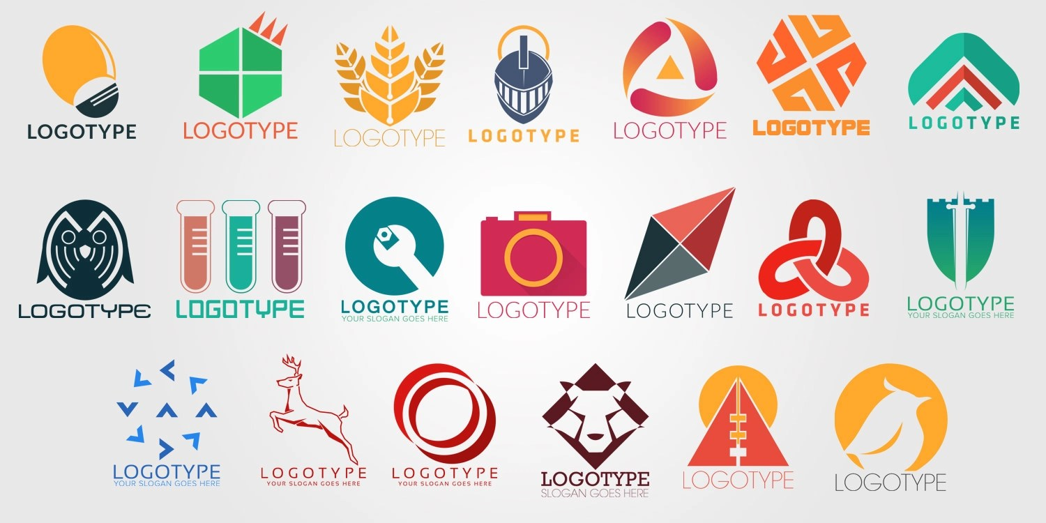 50 Free PSD company logo Designs to Download