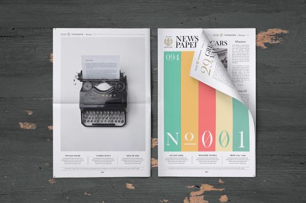 30 Newspaper PSD Mockups  PSD Vector EPS JPG Download
