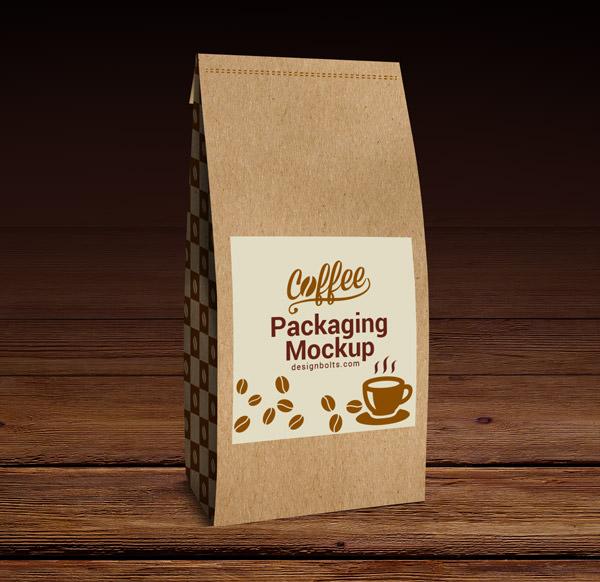 Download 6 Free PSD Coffee Bag Mockups | FreeCreatives