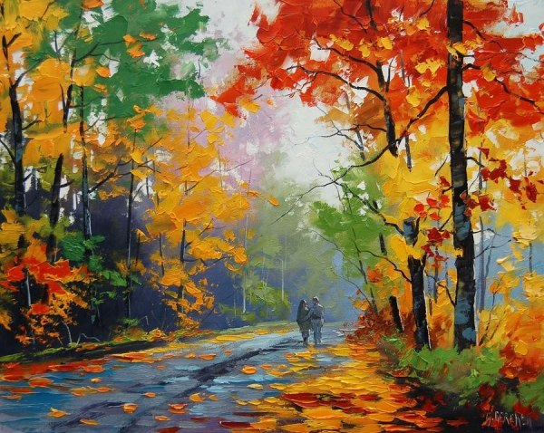 landscape paintings of nature