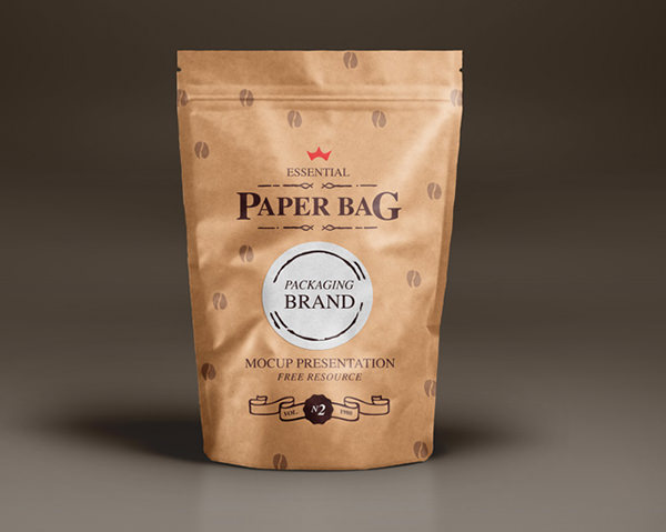 Sample designs are not included in the downloaded file. Free 5 Psd Coffee Bag Mockups In Psd Indesign Ai
