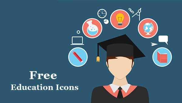 300 Free Education IconsFreeCreatives