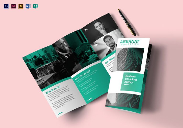 download brochure template word