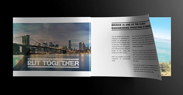 15 Free PSD A4 Landscape Brochure Mockups  FreeCreatives
