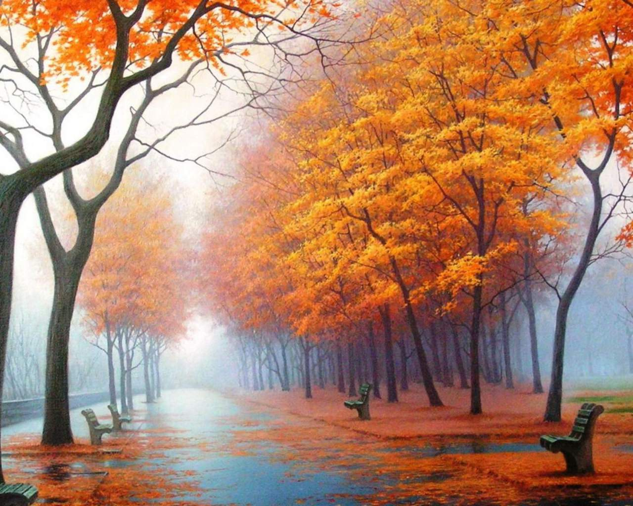 Fall Path Wallpaper 21 Autumn Wallpapers Backgrounds Images Freecreatives