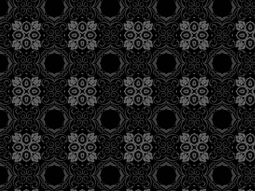 15 Dark Floral Patterns Flowers Patterns FreeCreatives