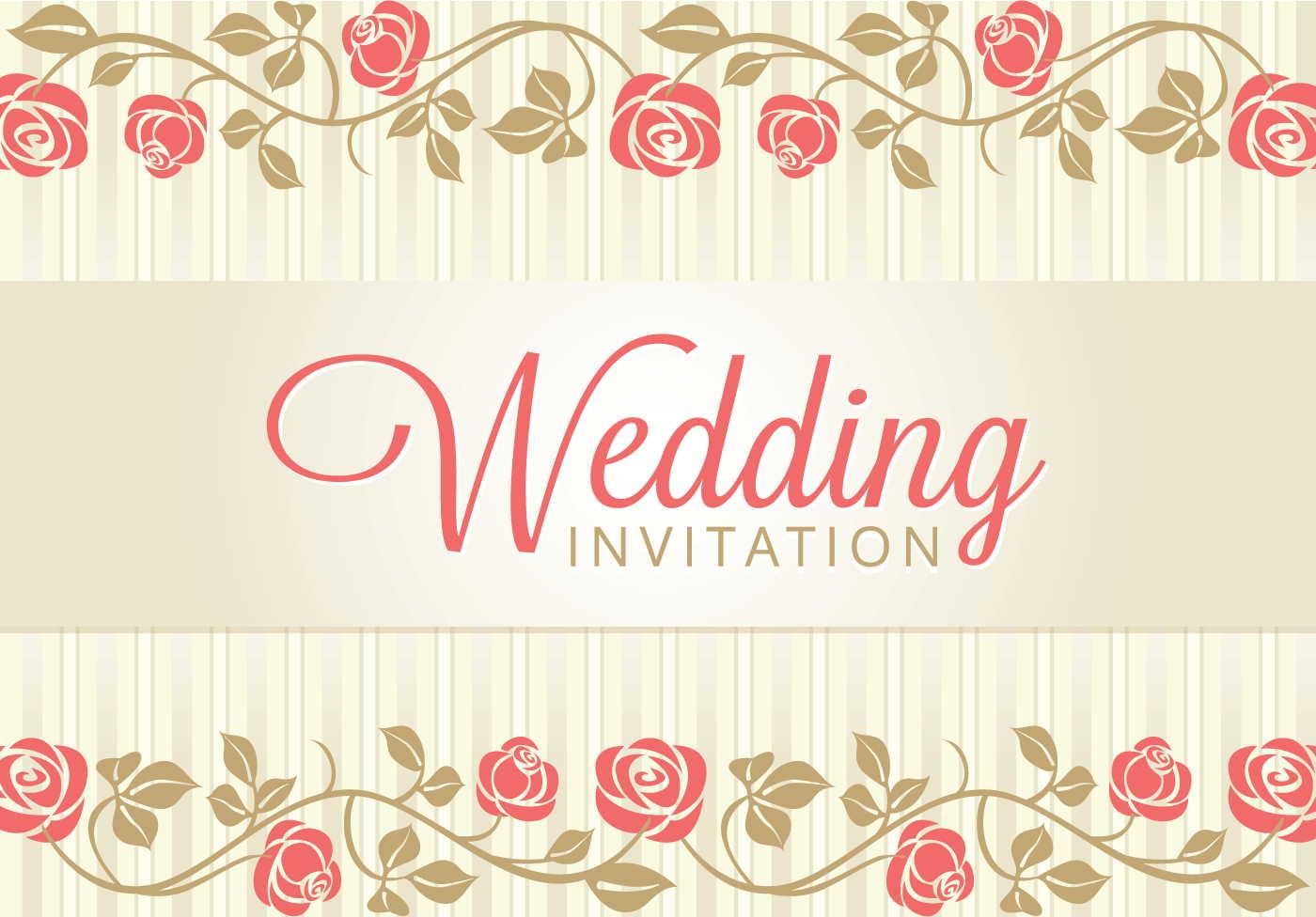 background card wedding