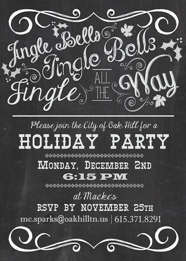 21 Holiday Party Invitation Designs PSD Vector EPS