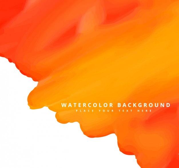 Iphone Chevron Wallpaper 10 Orange Watercolor Backgrounds Textures Freecreatives