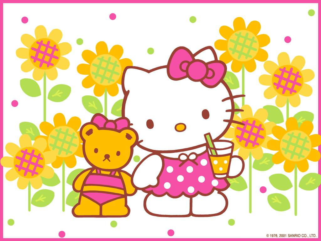 Hello Kitty Fall Wallpaper 15 Hello Kitty Hd Backgrounds Wallpapers Images